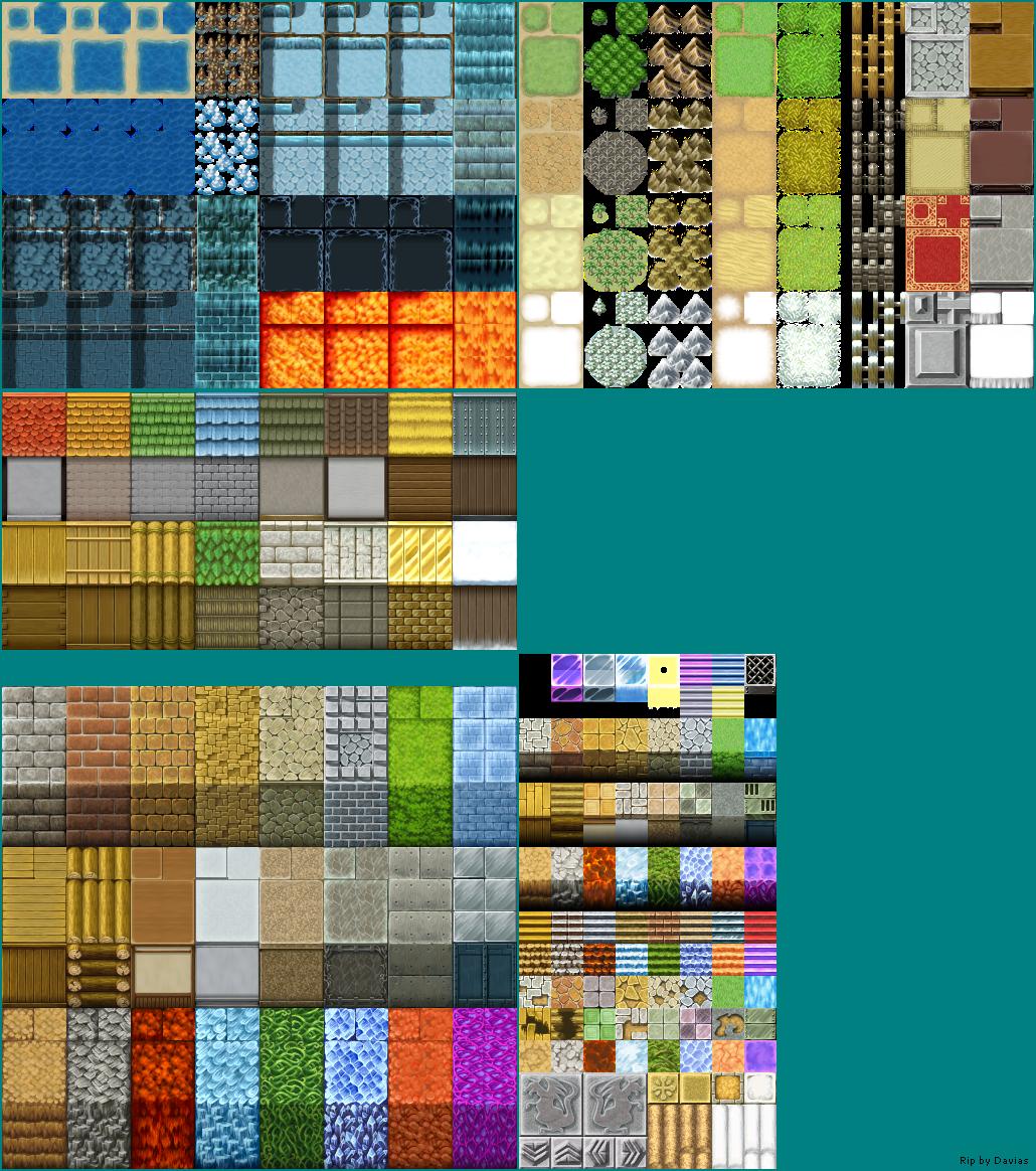 PC / Computer - RPG Maker VX - Tile A1-A5 - The Spriters