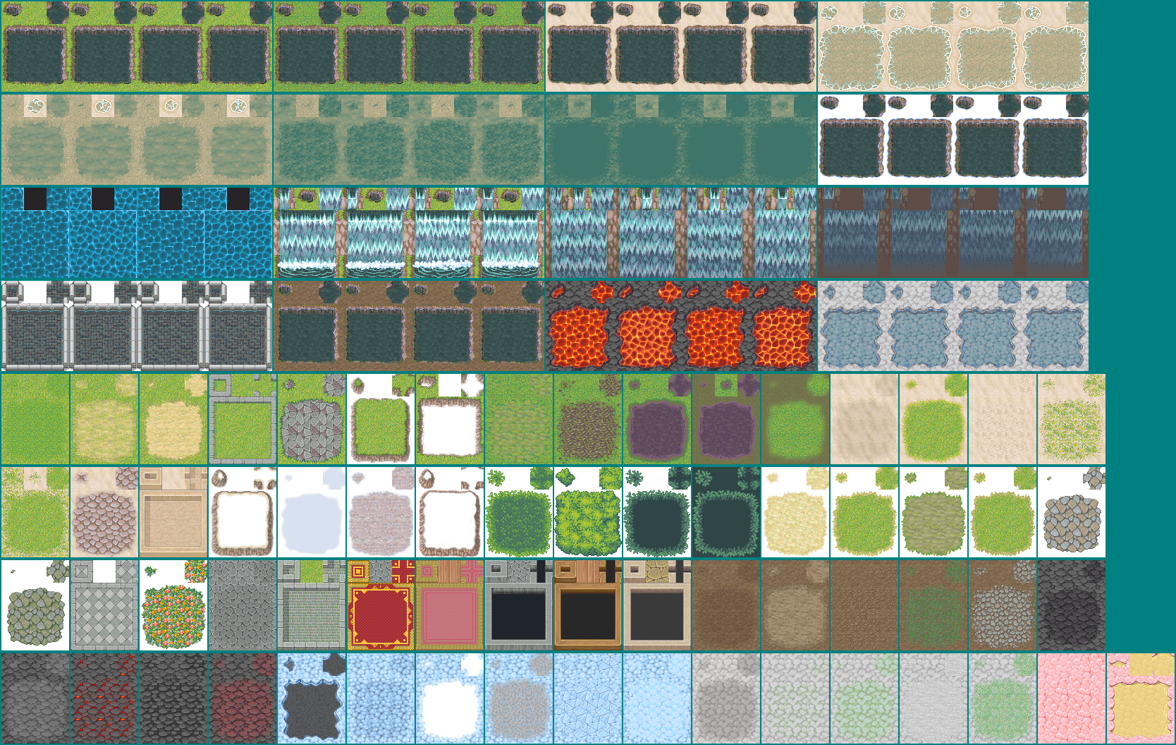 The Spriters Resource - Full Sheet View - RPG Maker XP