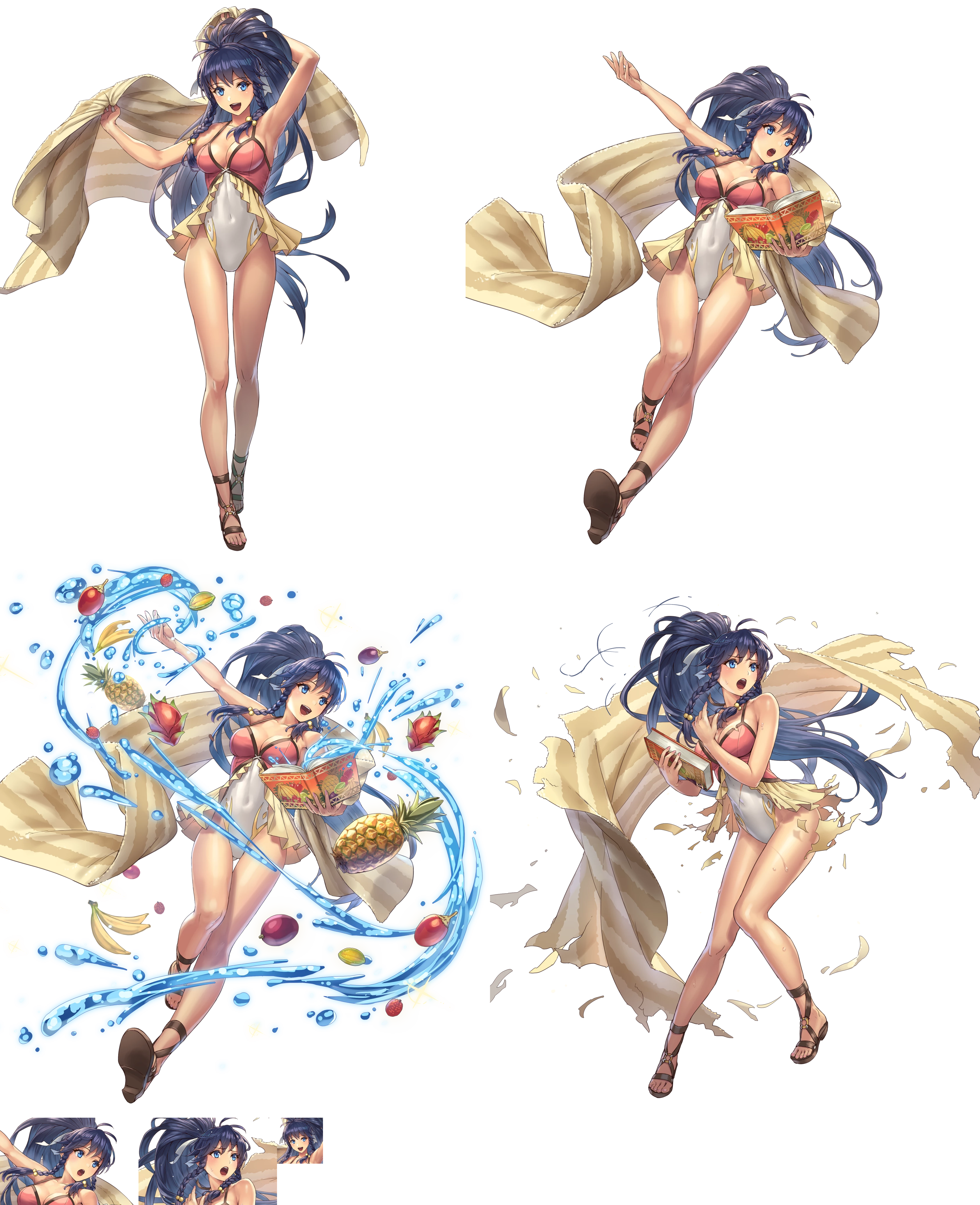 The Spriters Resource Full Sheet View Fire Emblem Heroes Tana