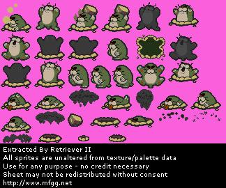 Nintendo 64 paper mario monty mole flower fields the monty mole flower fields mightylinksfo