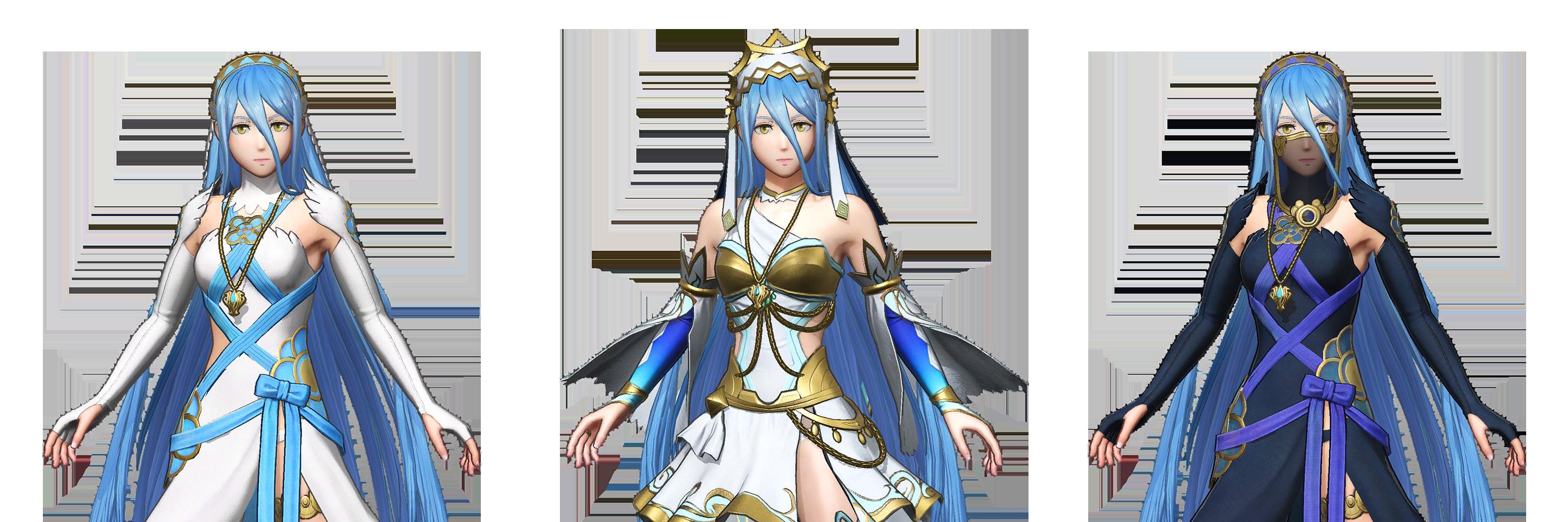 Nintendo Switch Fire Emblem Warriors Azura The Spriters Resource