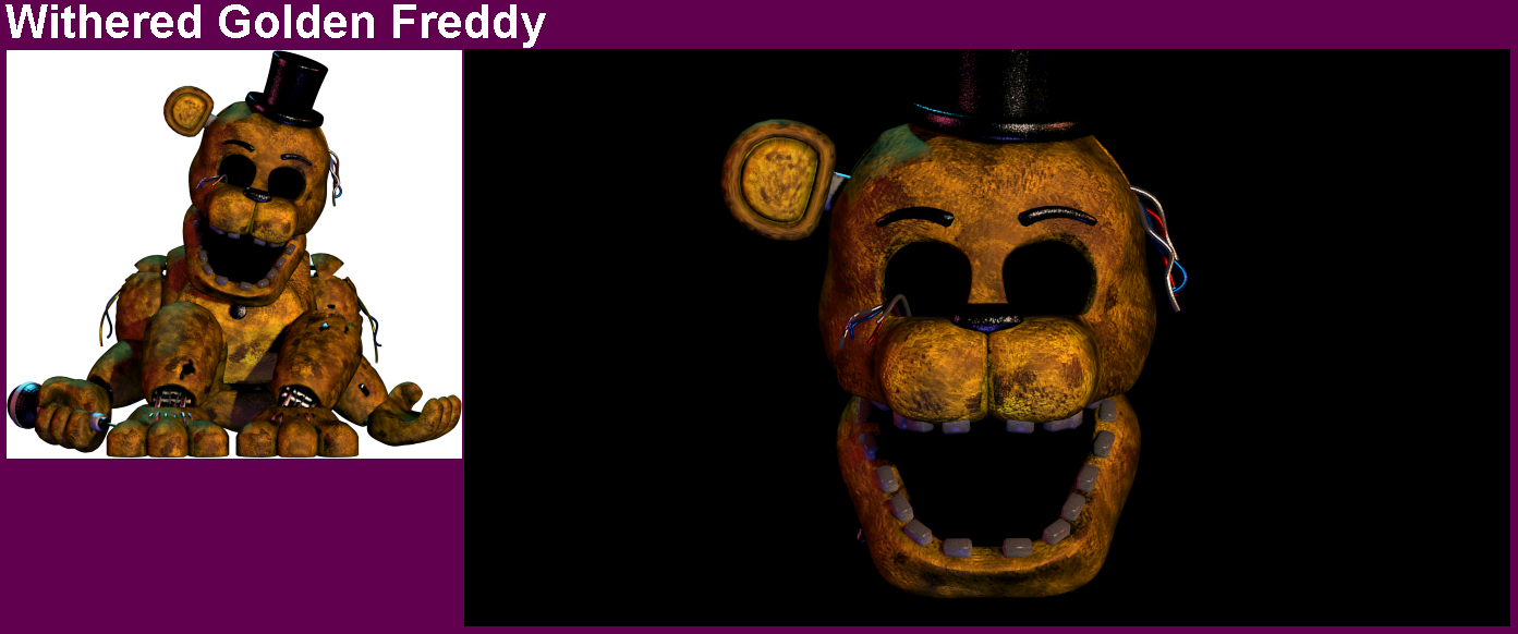 PC / Computer - Ultimate Custom Night - Golden Freddy - The Spriters