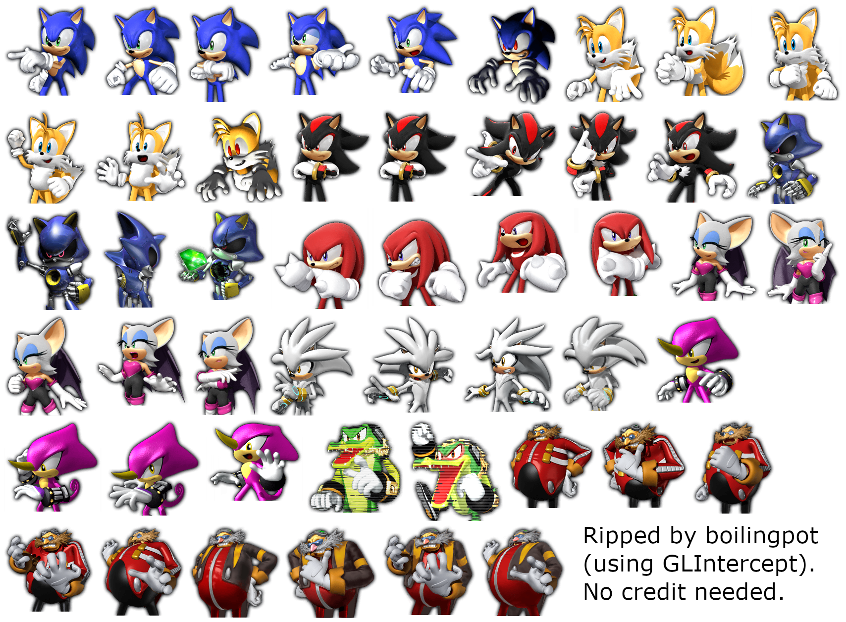 Psp Sonic Rivals 2 Story Prerenders The Spriters Resource