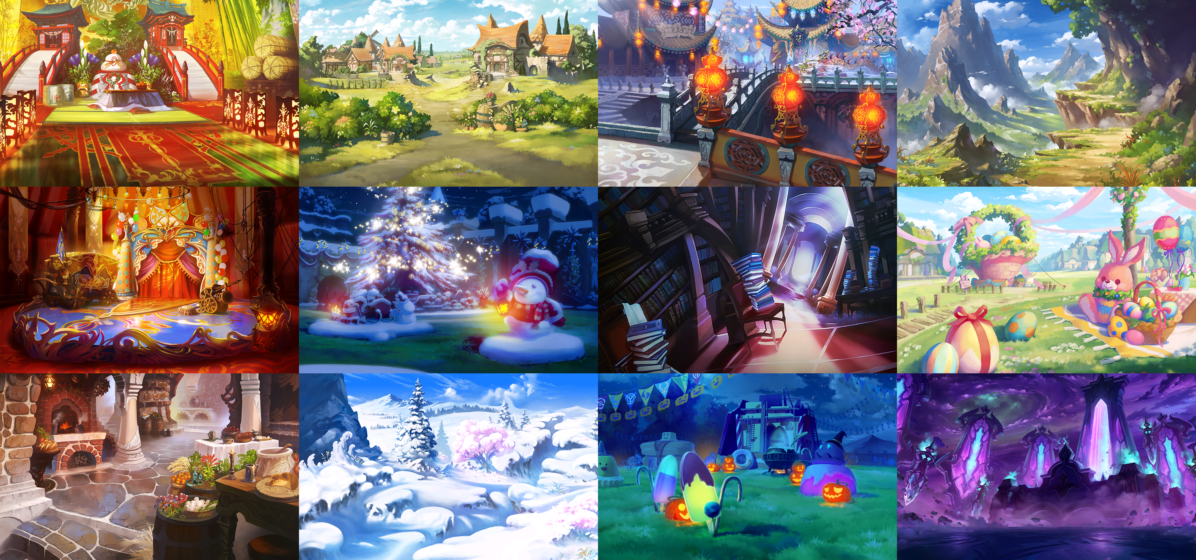 The Spriters Resource - Full Sheet View - Dragalia Lost - Event
