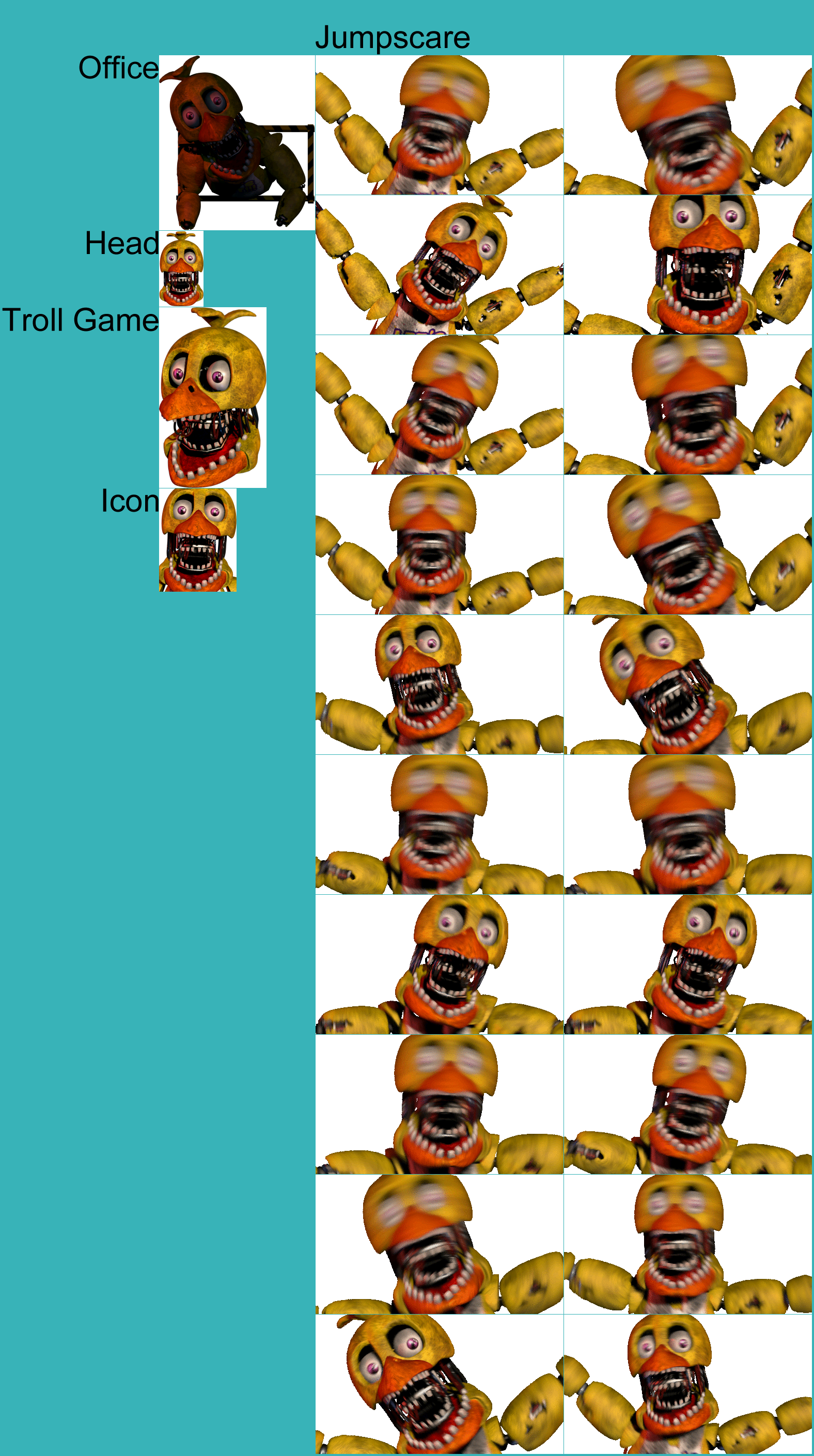 PC / Computer - Ultimate Custom Night - Withered Chica - The