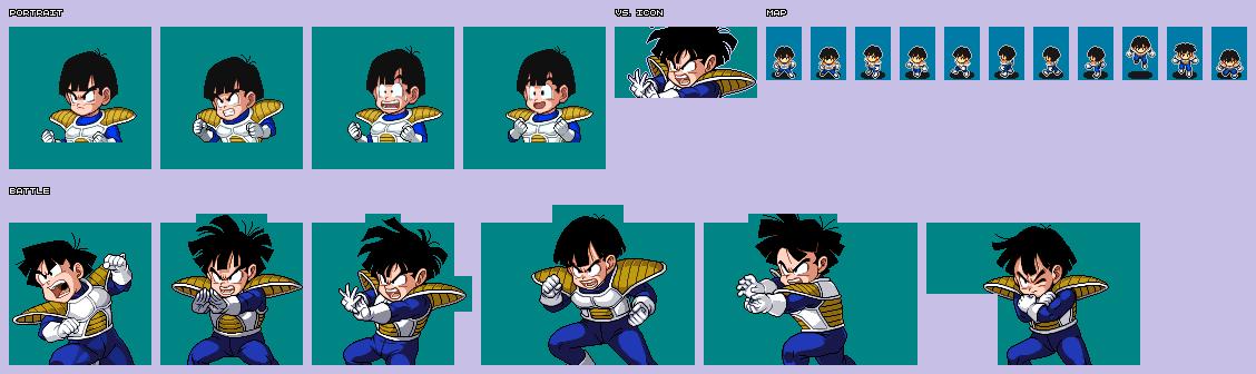 Ds Dsi Dragon Ball Z Harukanaru Goku Densetsu Gohan