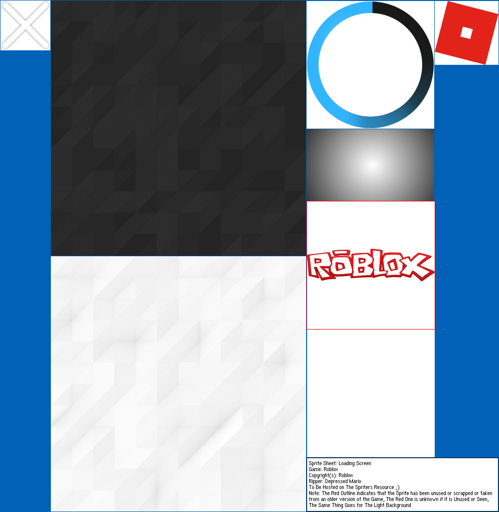 Pc Computer Roblox Loading Screen The Spriters Resource