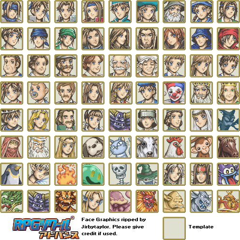 Game boy advance rpg maker advance faces the spriters resource download this sheet pronofoot35fo Image collections