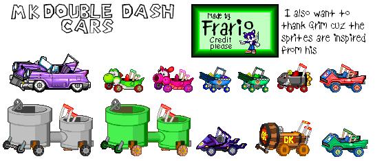 Custom Edited Mario Customs Karts Double Dash The