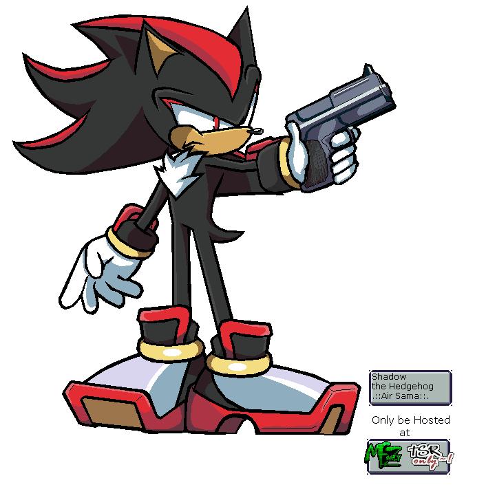 Custom Edited Sonic The Hedgehog Customs Shadow Pixel Art The Spriters Resource