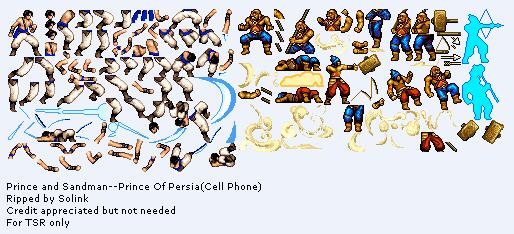 Mobile Prince Of Persia Prince Sandman The Spriters Resource