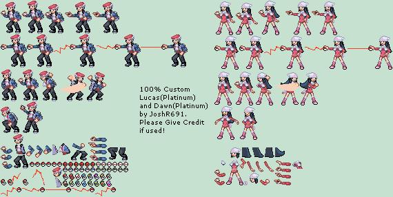 Pokemon mini sprites trainers