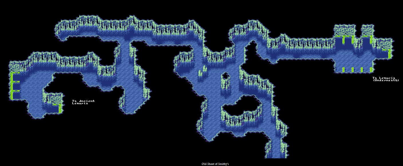Golden Sun 2 World Map.Game Boy Advance Golden Sun 2 The Lost Age Lemurian Harbor