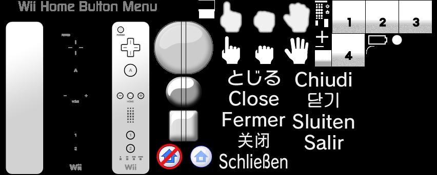 Wii - Wii Menu - HOME Menu - The Spriters Resource