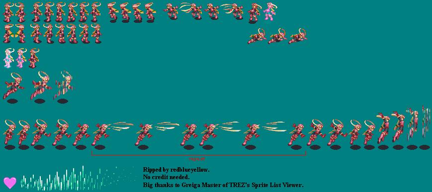The Spriters Resource Full Sheet View Mega Man Battle Network 2
