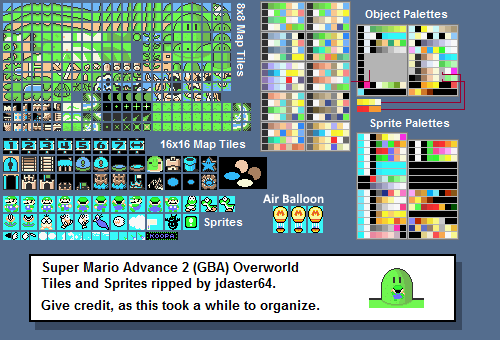 Game boy advance super mario advance 2 super mario world map map tiles gumiabroncs Image collections