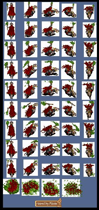 Pc Computer Warcraft 2 Death Knight The Spriters Resource