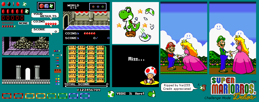 Super mario brothers deluxe rom