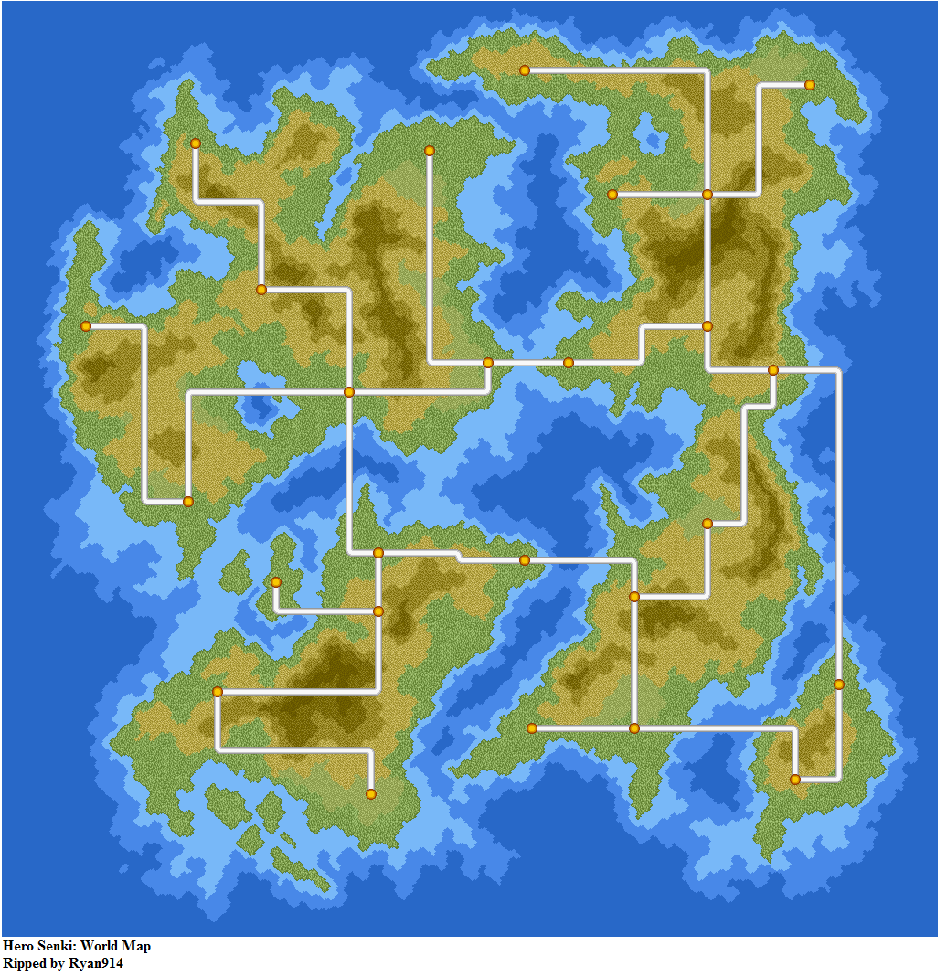 Snes hero senki project olympus jpn world map the spriters click for full sized image world map gumiabroncs Gallery