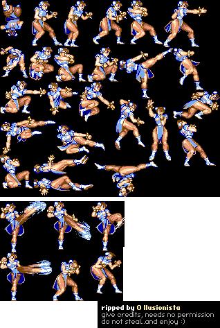 Mobile Street Fighter 2 Champion Edition Chun Li The