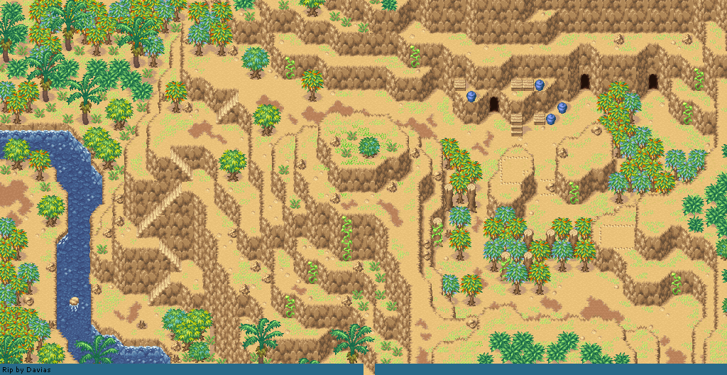 The Spriters Resource - Full Sheet View - Golden Sun 2: The Lost Age ...