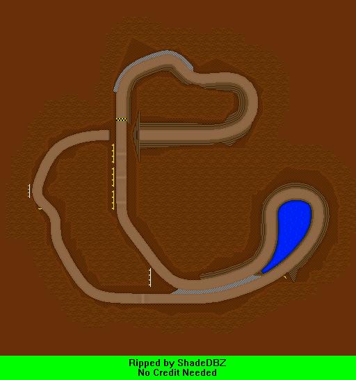 DS / DSi - Mario Kart DS - N64 Choco Mountain - The Spriters