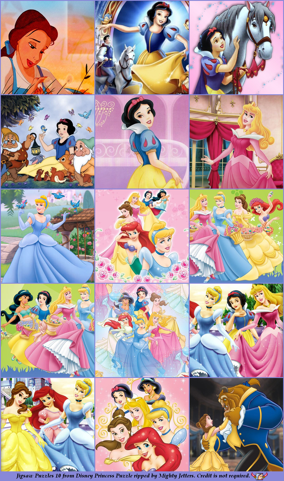 Mobile Disney Princess Puzzle Jigsaw Puzzles 10 The Spriters