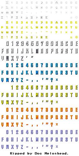 Genesis 32x Scd Sonic The Hedgehog Cd Sega Cd Fonts The Spriters Resource