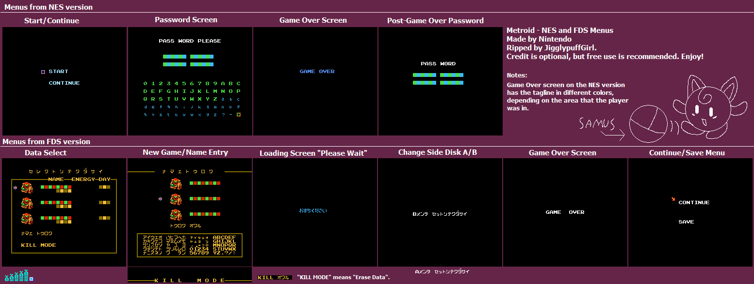 Click For Full Sized Image NES And FDS Menus
