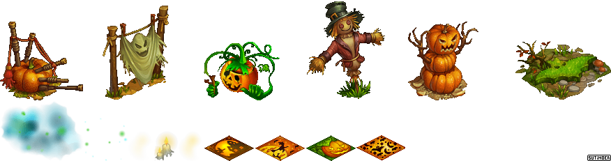 PC / Computer - Big Farm Theory - Halloween - The Spriters Resource