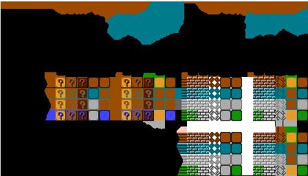 Nes Super Mario Bros 2 The Lost Levels Jpn Item And Brick