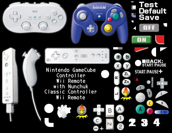 Wii Super Smash Bros Brawl Button Configuration The