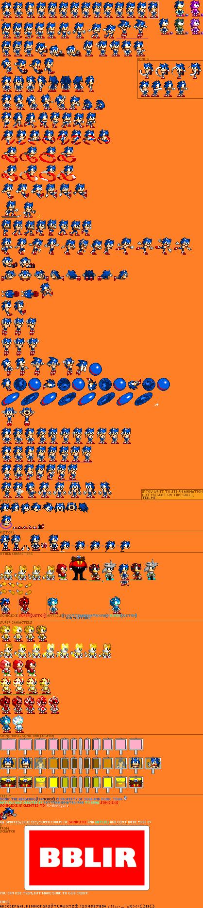 Custom / Edited - Sonic the Hedgehog Customs - Sonic - The
