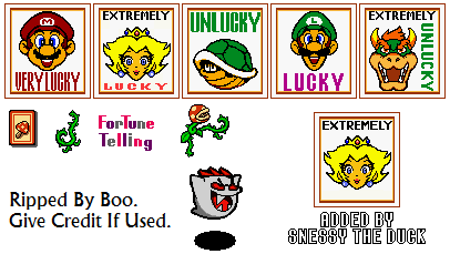 Game Boy / GBC - Super Mario Bros  Deluxe - Fortune Telling