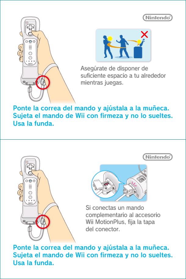 Wii - Wii Menu - Wrist Strap Reminder (PAL and NTSC-U