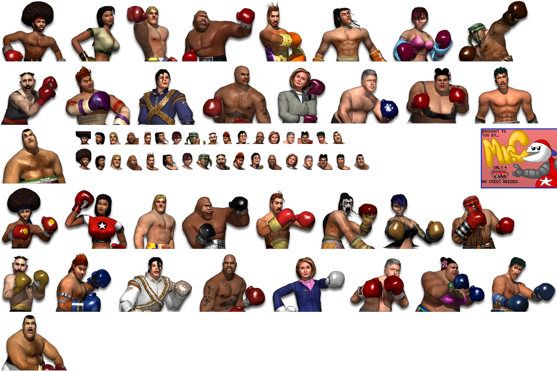 Ready 2 Rumble Boxing Nintindo 64 Round Two