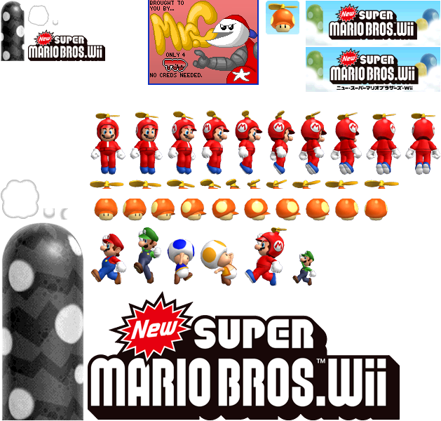 Wii New Super Mario Bros Wii Wii Banner And Memory Data The