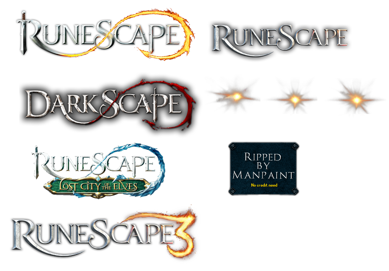 PC / Computer - RuneScape 3 - Login Logos - The Spriters