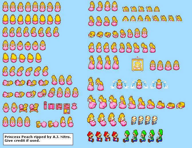 Game Boy Advance Mario Luigi Superstar Saga Princess