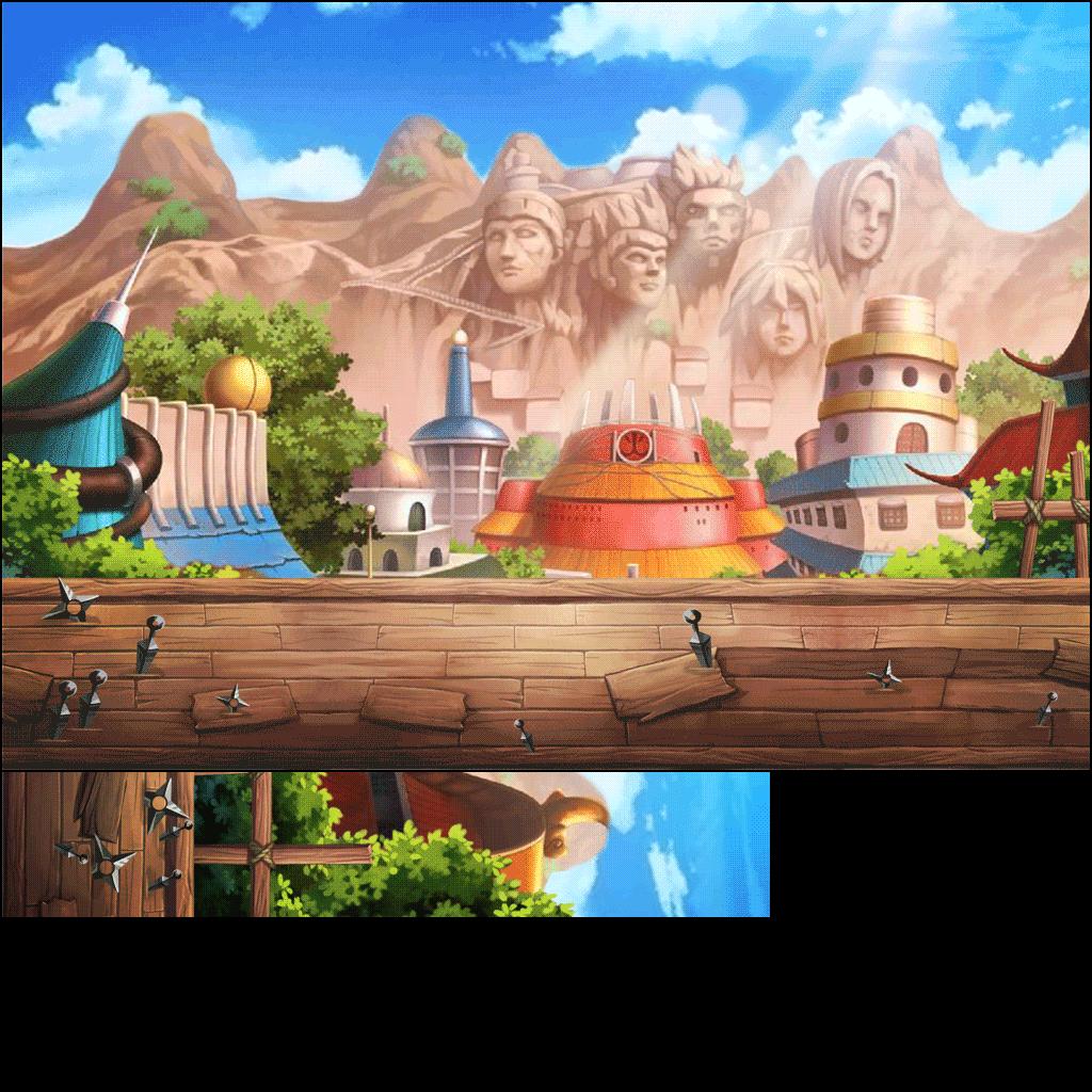 Mobile - Ninja Heroes - Hidden Leaf Village - The Spriters Resource