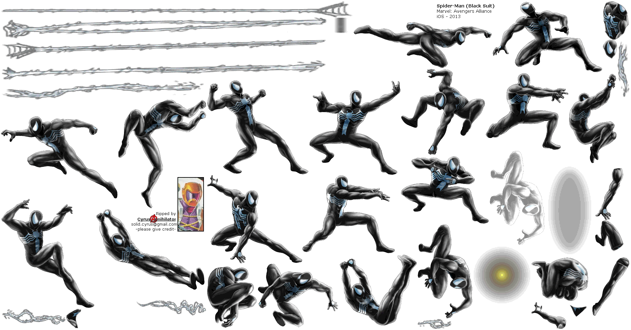 mobile marvel avengers alliance ios spider man black suit