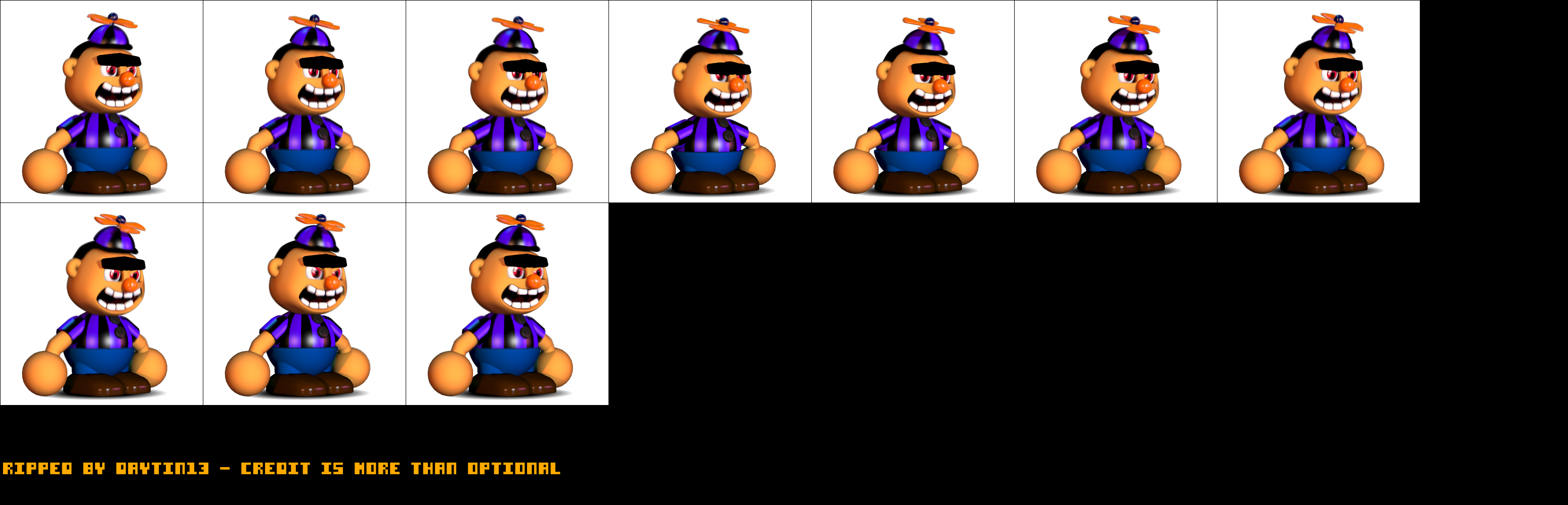 PC / Computer - FNaF World - Brow-Boy - The Spriters Resource