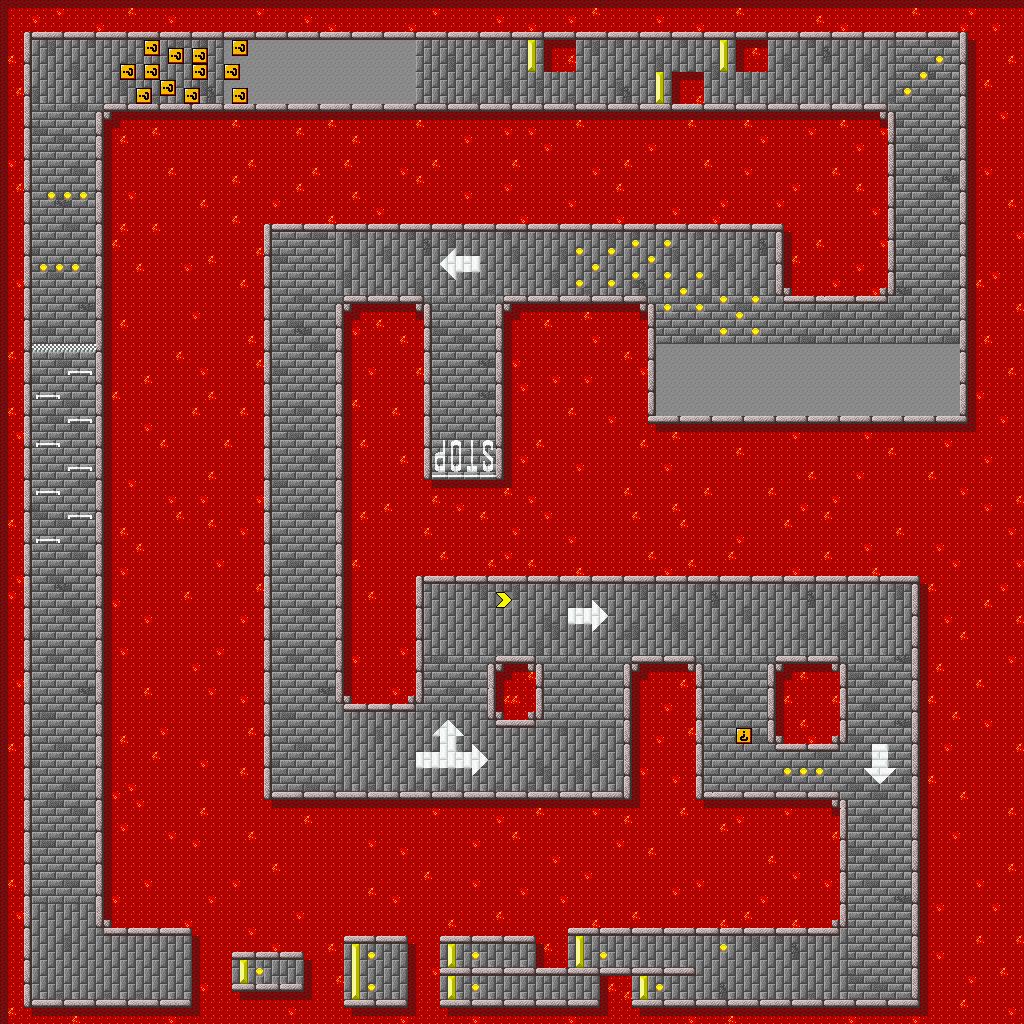 SNES - Super Mario Kart - Bowser Castle 2 - The Spriters Resource