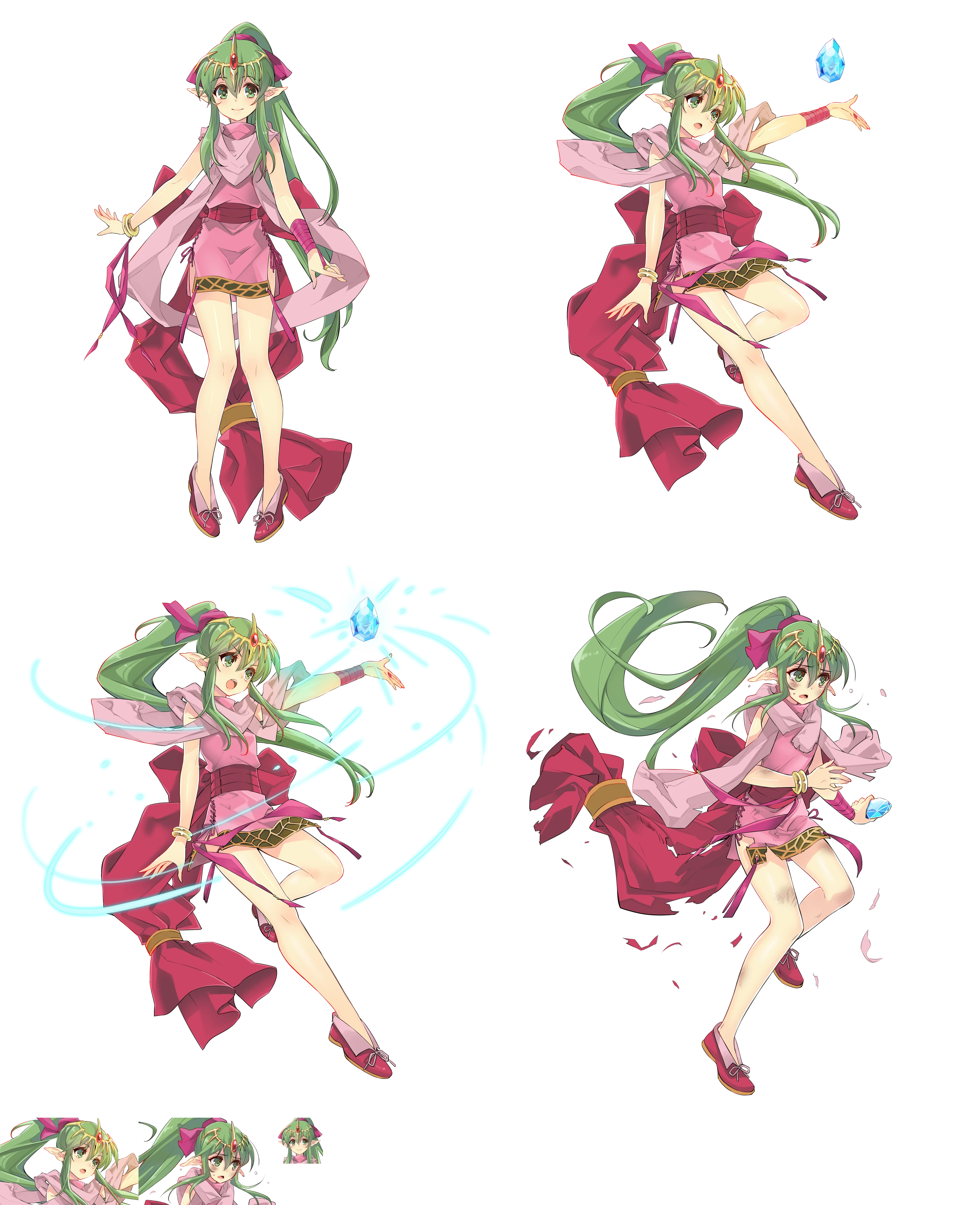 Mobile Fire Emblem Heroes Tiki Dragon Scion The Spriters