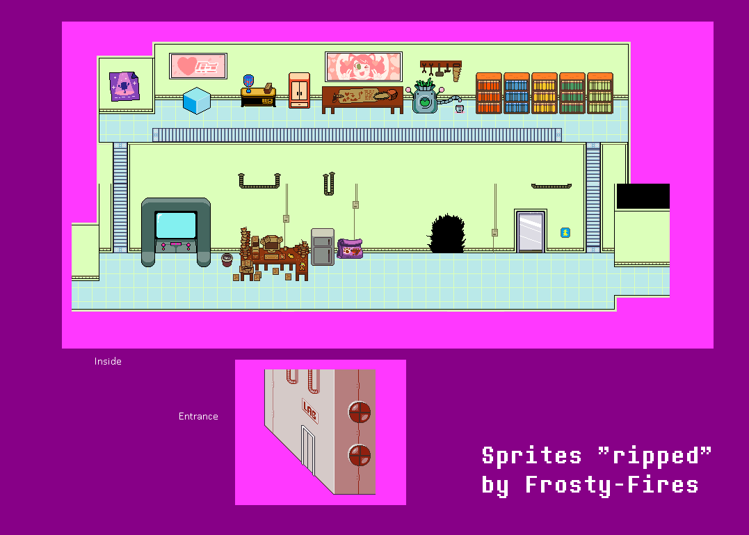 PC / Computer - Undertale - Alphys' Lab - The Spriters Resource