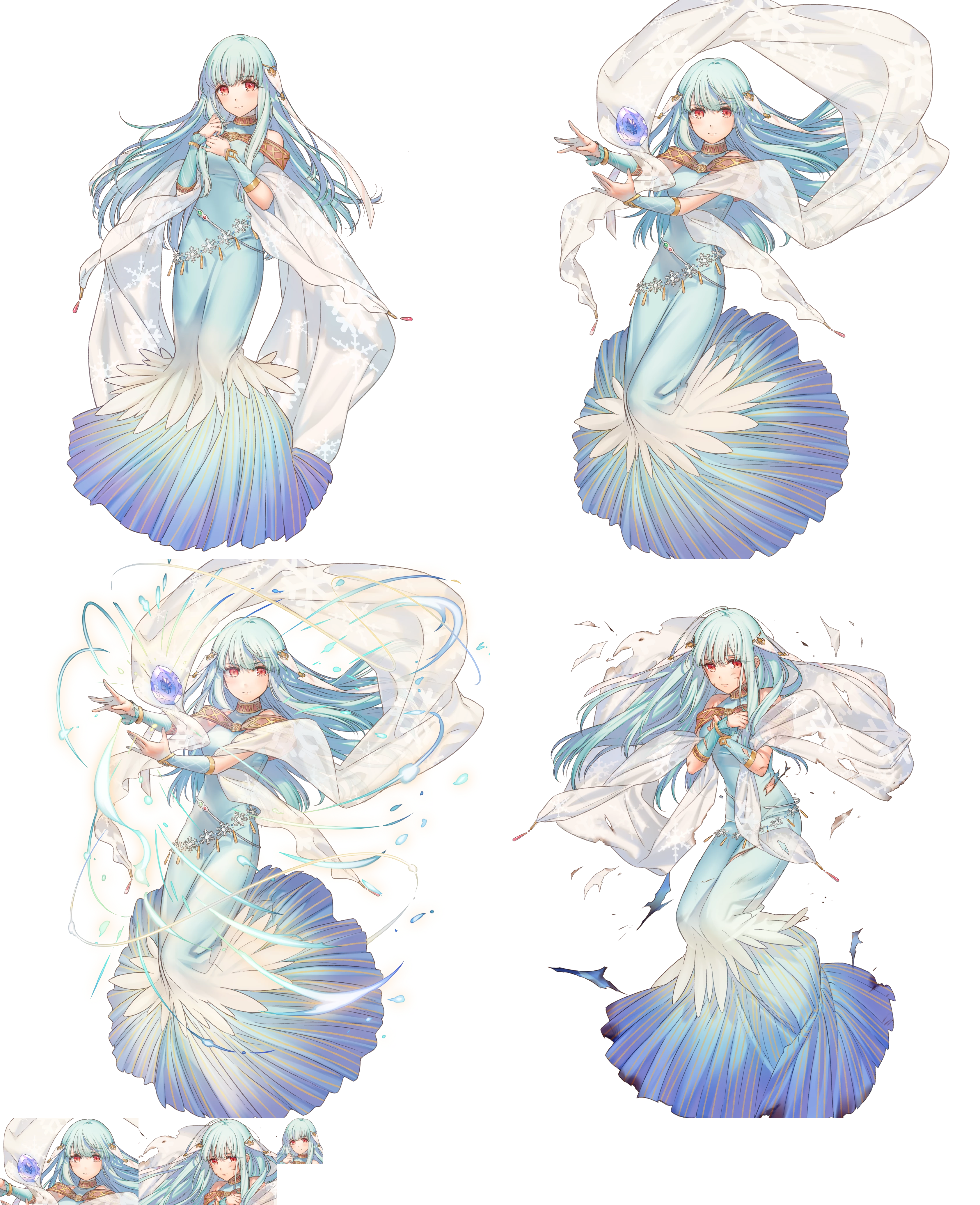 Mobile Fire Emblem Heroes Ninian The Spriters Resource