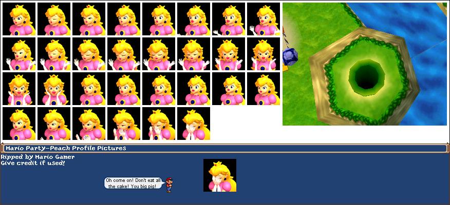 Nintendo 64 - Mario Party - Princess Peach - The Spriters