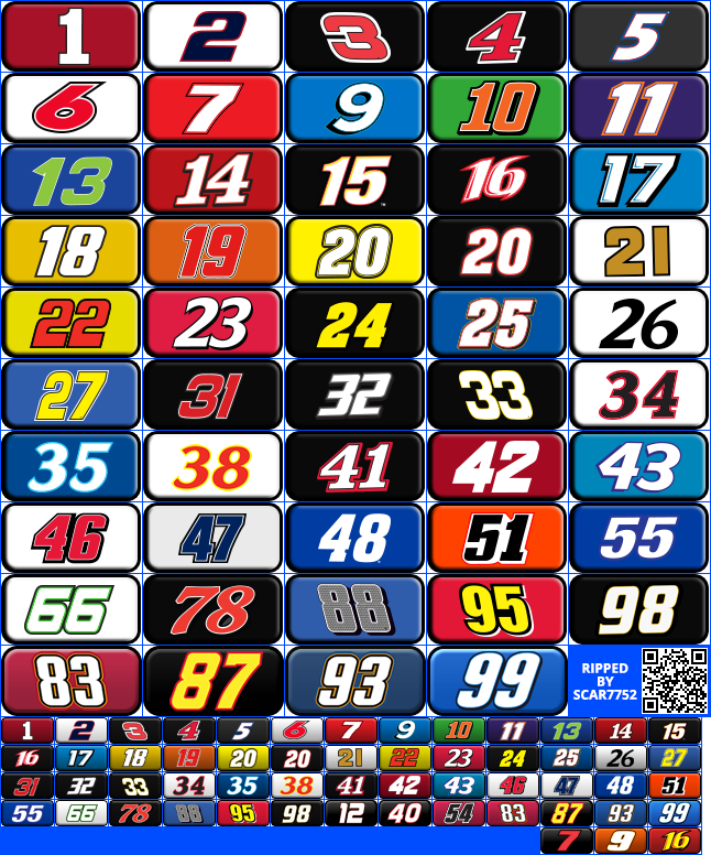 Mobile Nascar Manager Icons The Spriters Resource