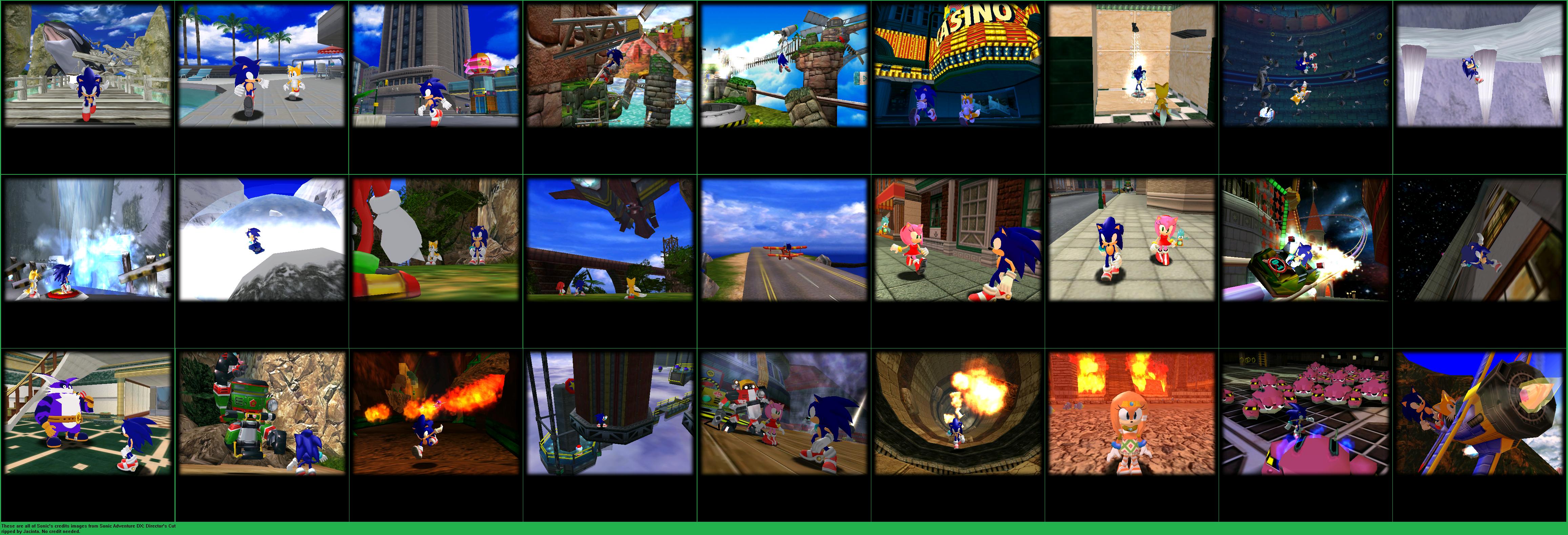 PC / Computer - Sonic Adventure DX: Director's Cut - Credits