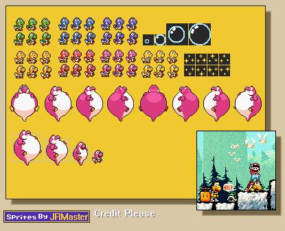 Custom Edited Yoshi Customs Baby Yoshi Super Mario Bros 3
